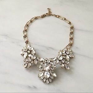 J. Crew Crystal Statement Collar Necklace